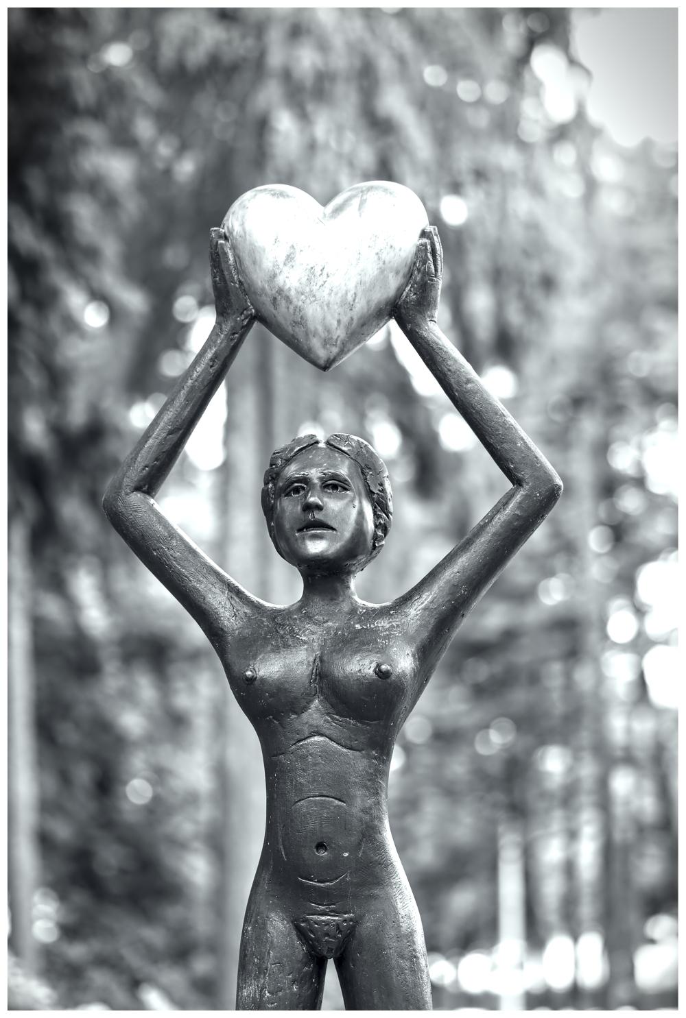 Estatua História Street Photography Guarda