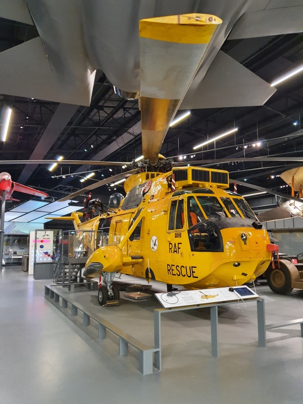 The Westland Sea King HAR3 Helicopter