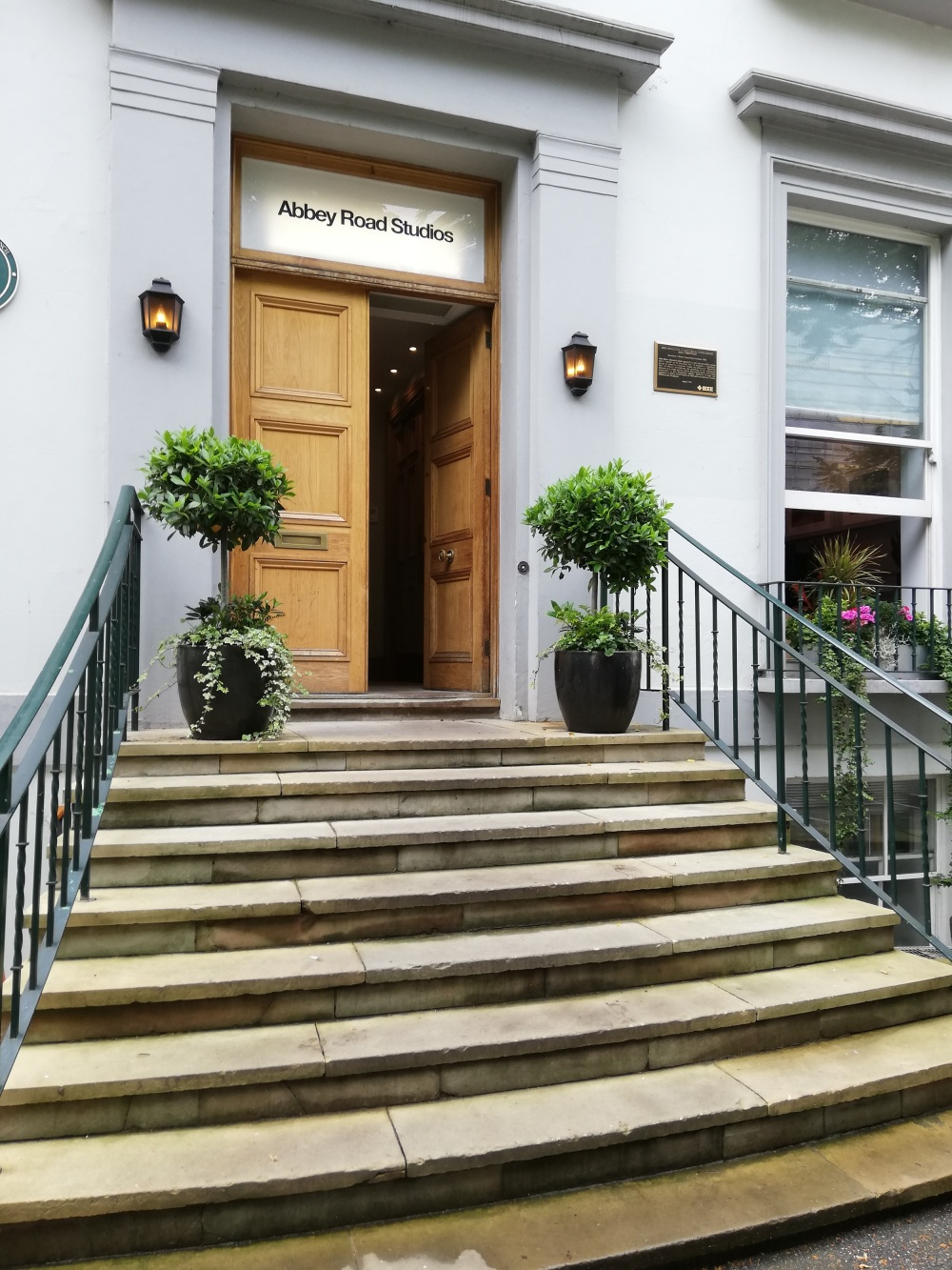 The infamous Abbey Road Studios in London