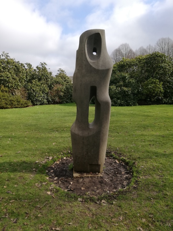 Monolith-Empyrean Sculpture by Barbara Hepworth