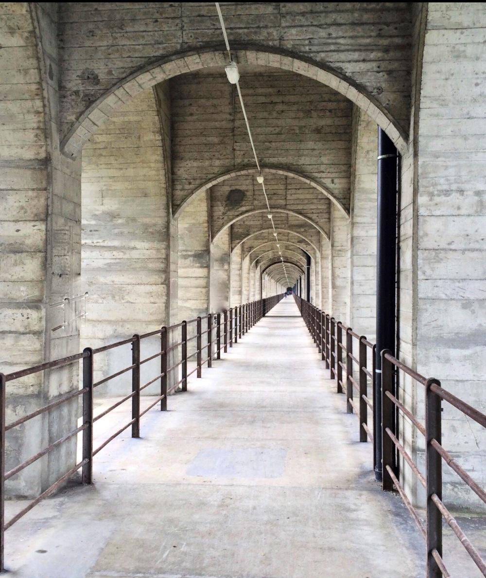 Le pont ferroviaire  de Grandfey