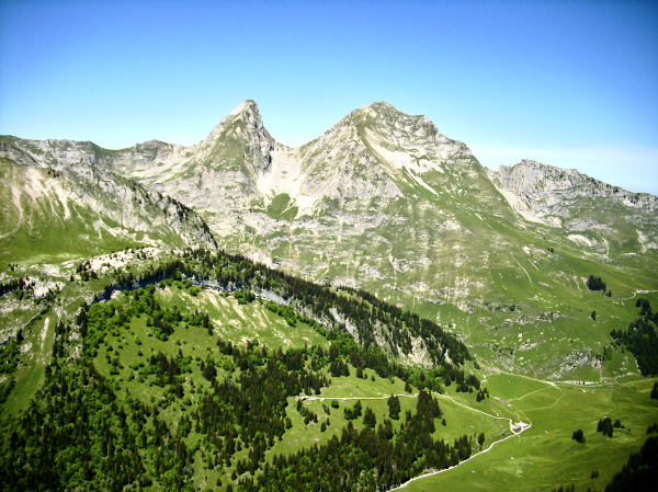 Brenlière 2353 m. & Folliéran 2340 m.