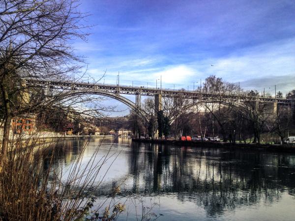 Le pont de Kirchenfeld