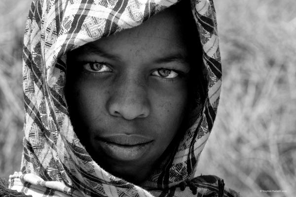 Young Somali camel trader