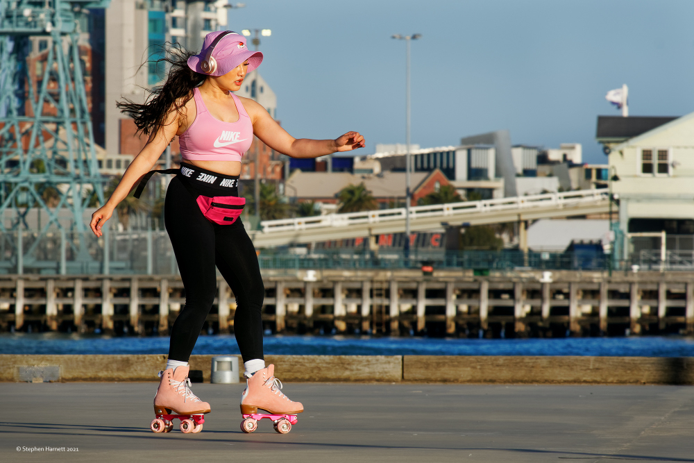 Skating Princes Pier