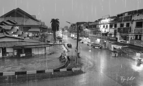 Heavy rain in the weekend