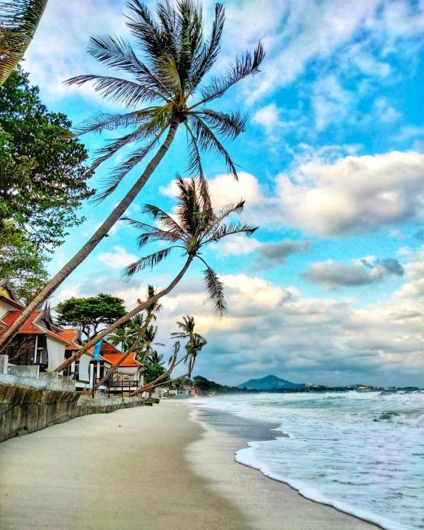 Chaweng Beach in Koh Samui Thailand