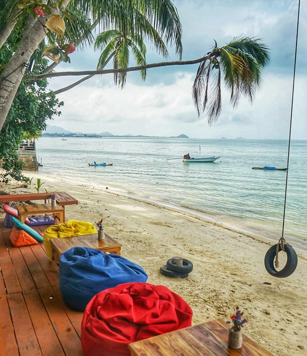 Beach Cafe in Koh Samui Thailand