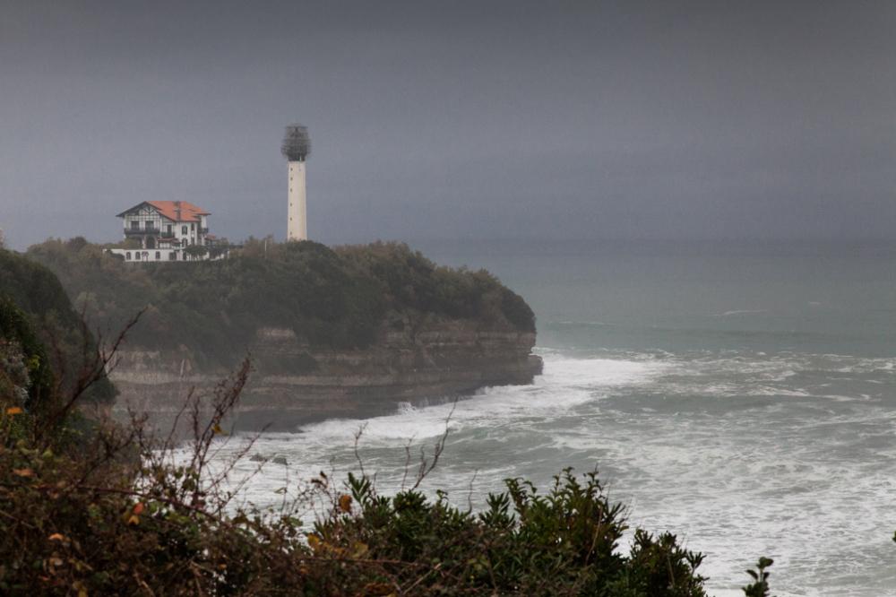 Biarritz , le phare