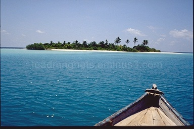 Island Malaga near Ellaidhoo, Maldives, 1993