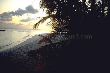 Sundown, Island Ellaidhoo, Maldives, 1993
