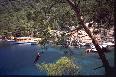 Turkey, nead Bodrum, 1990