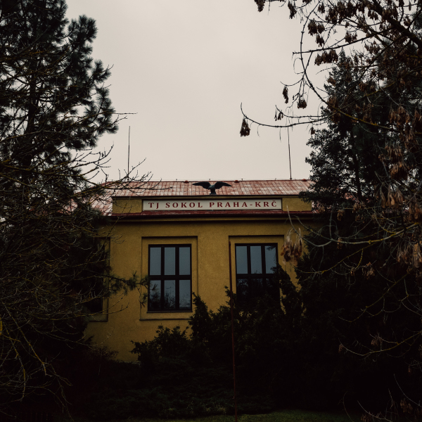 Sokol gymnasium in Prague