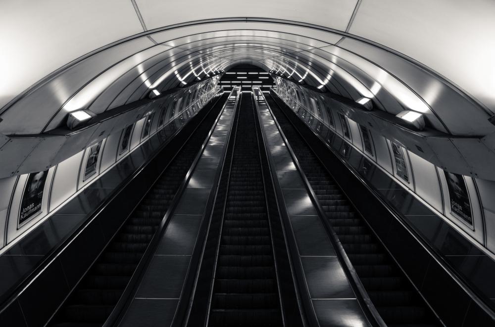 Jinonice Metro Station in Prague