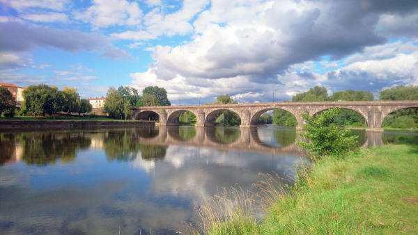 Fin de journée à Pont du Château 63