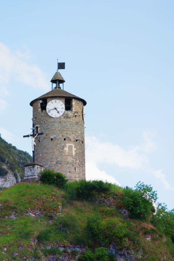 Tour du Castella à Tarascon sur Ariège