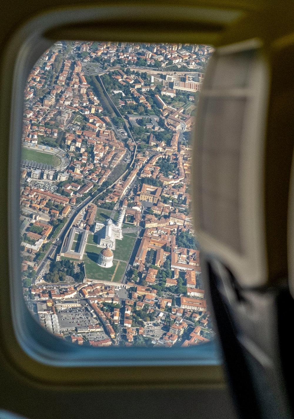 Leaving Pisa