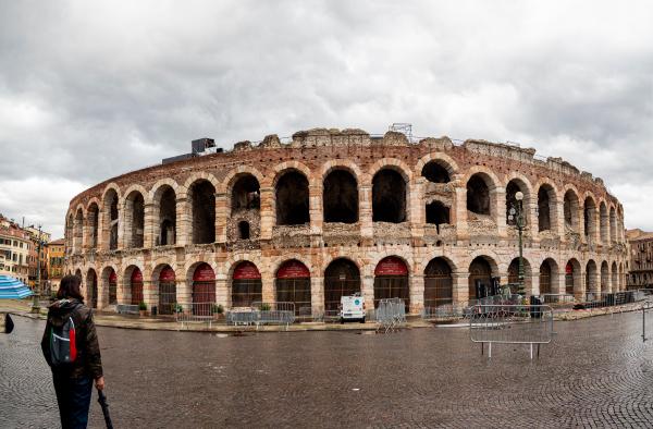 Arena Verona outside