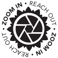 Zoom In Reach Out Logo